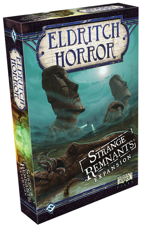 Eldritch Horror: Strange Remnants Expansion Box Front