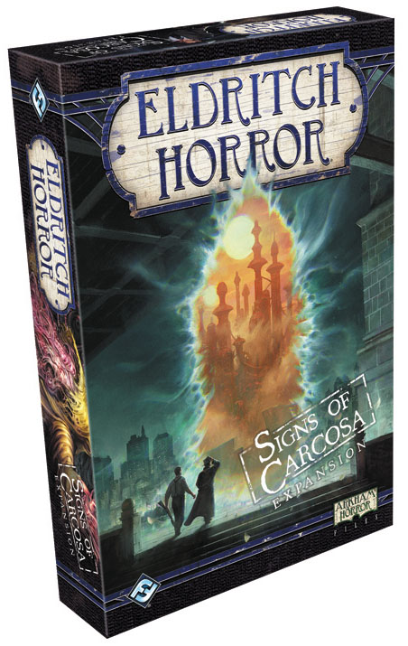 Eldritch Horror: Signs Of Carcosa Expansion Box Front