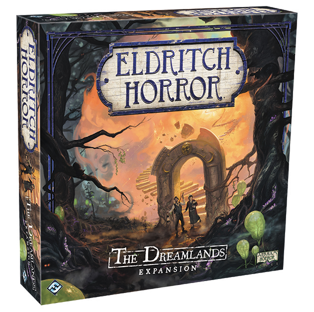 Eldritch Horror: The Dreamlands Expansion Box Front