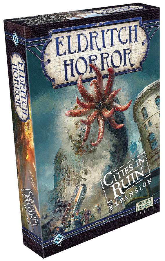Eldritch Horror: Cities In Ruin Expansion Box Front