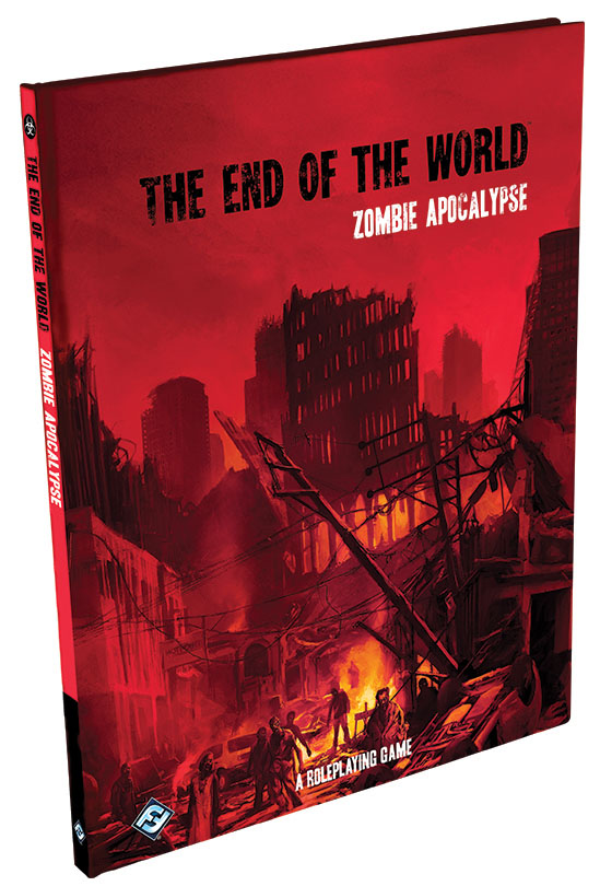 The End Of The World Rpg: Zombie Apocalypse Box Front