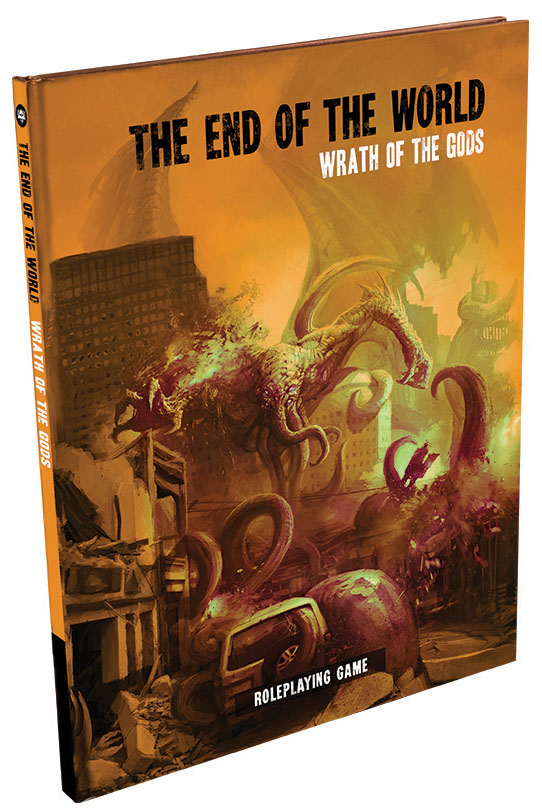 The End Of The World Rpg: Wrath Of The Gods Hardcover Box Front