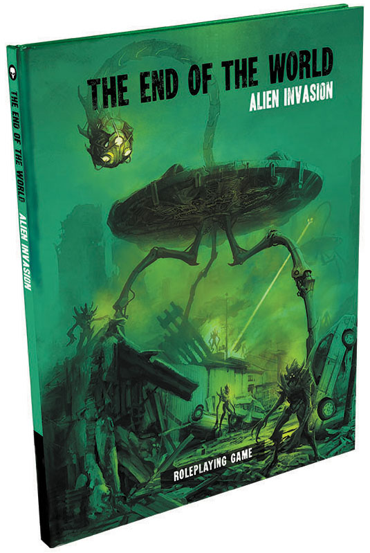 The End Of The World Rpg: Alien Invasion Hardcover Box Front