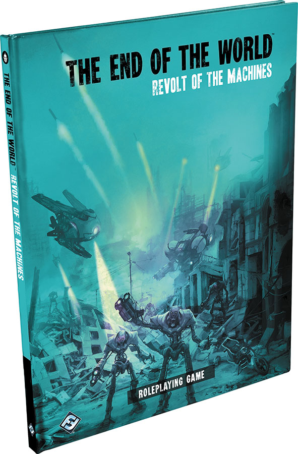 The End Of The World Rpg: Revolt Of The Machines Hardcover Box Front