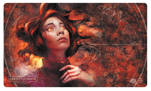 Arkham Horror Lcg: Across Space And Time Playmat Box Front