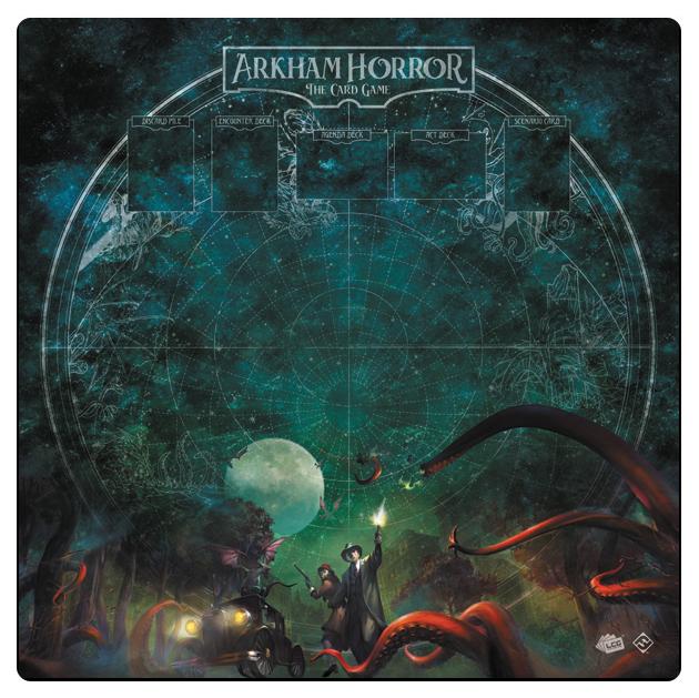 Arkham Horror Lcg: Countless Terrors 1-4 Player Gamemat Box Front