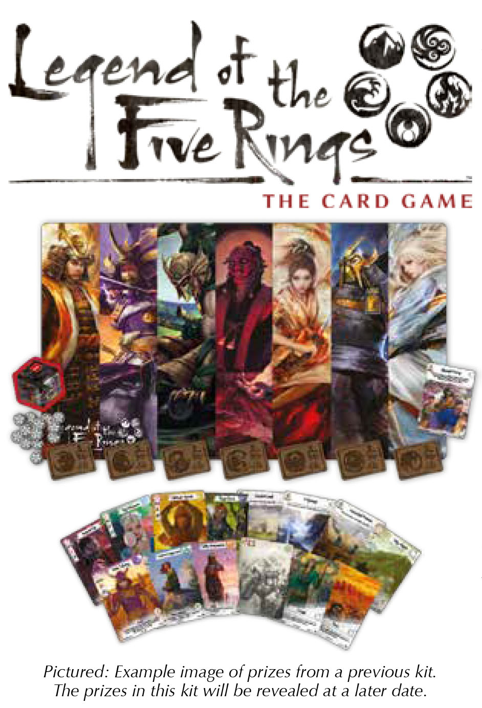 Legend Of The Five Rings Lcg: 2018 Season One Stronghold Kit Box Front