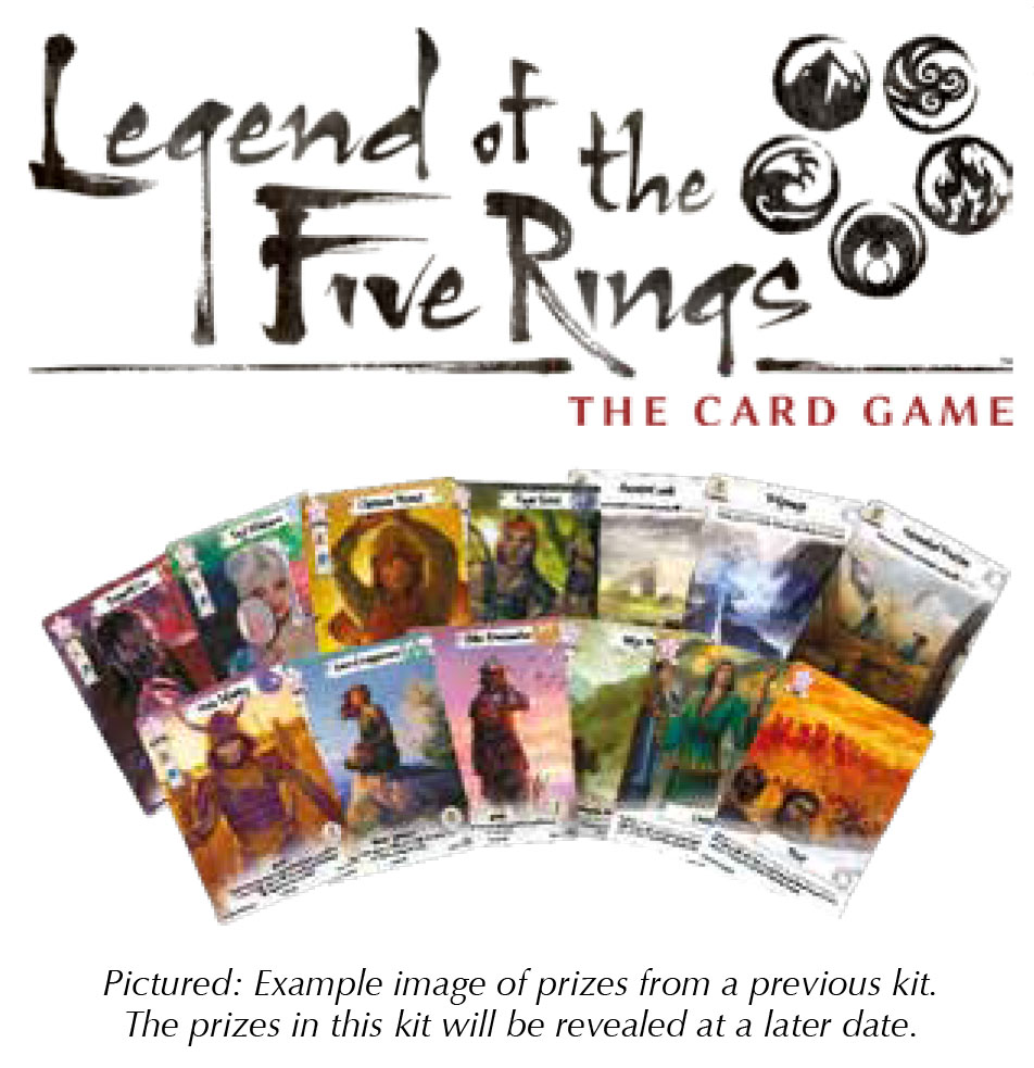 Legend Of The Five Rings Lcg: 2018 Season One Reinforcement Kit Box Front