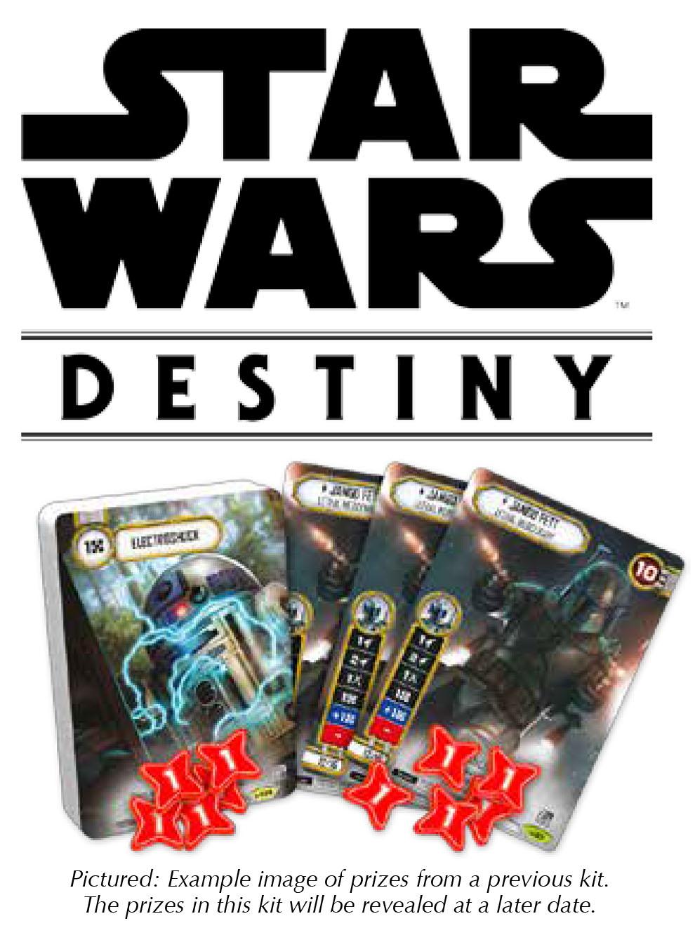 Star Wars Destiny: 2018 Season One Tournament Kit Box Front