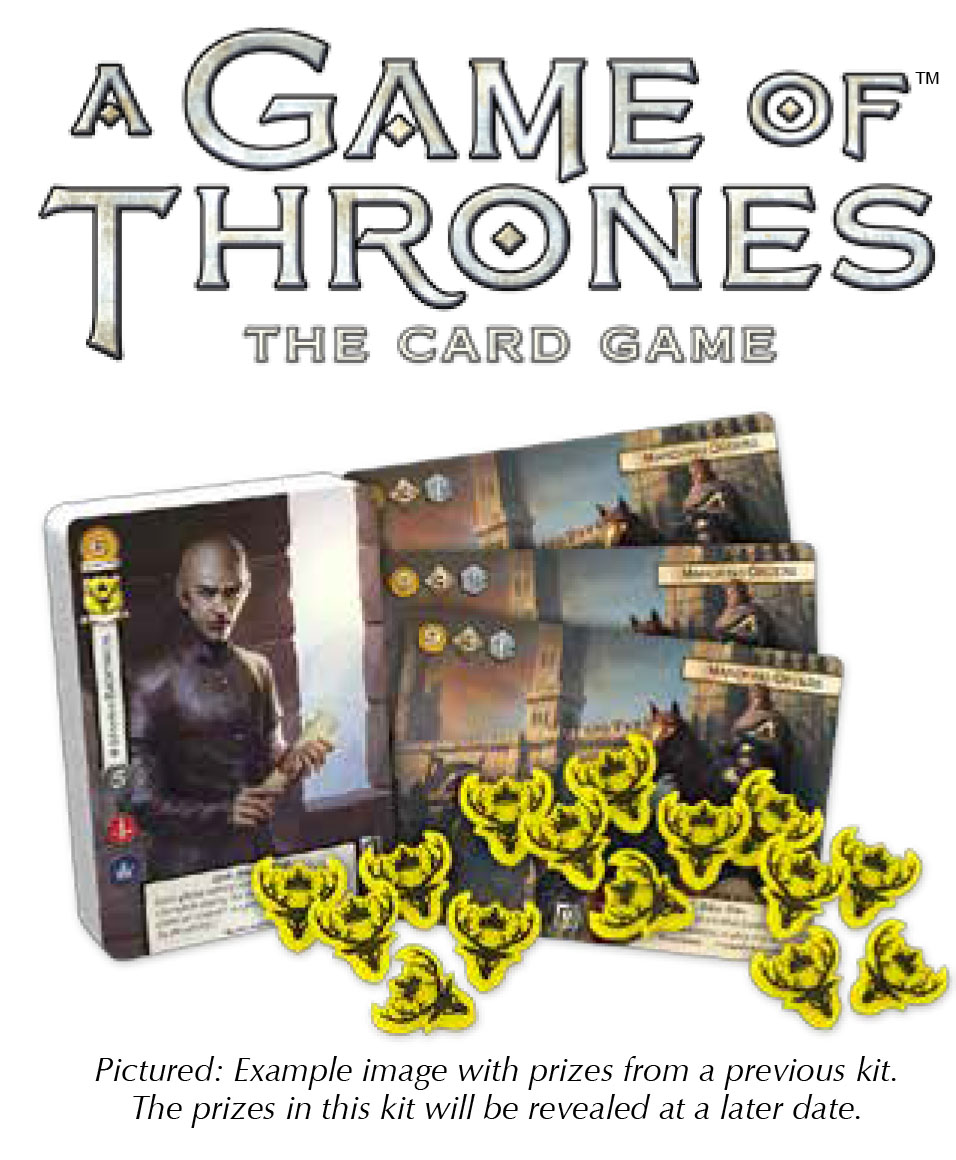 A Game Of Thrones Lcg: 2nd Edition - 2018 Season One Tournament Kit Box Front
