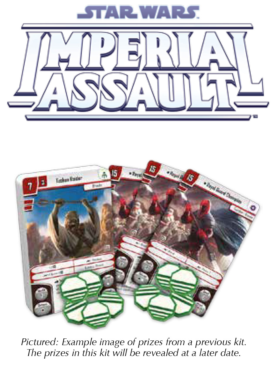 Star Wars Imperial Assault: 2018 Season Three Tournament Kit Box Front