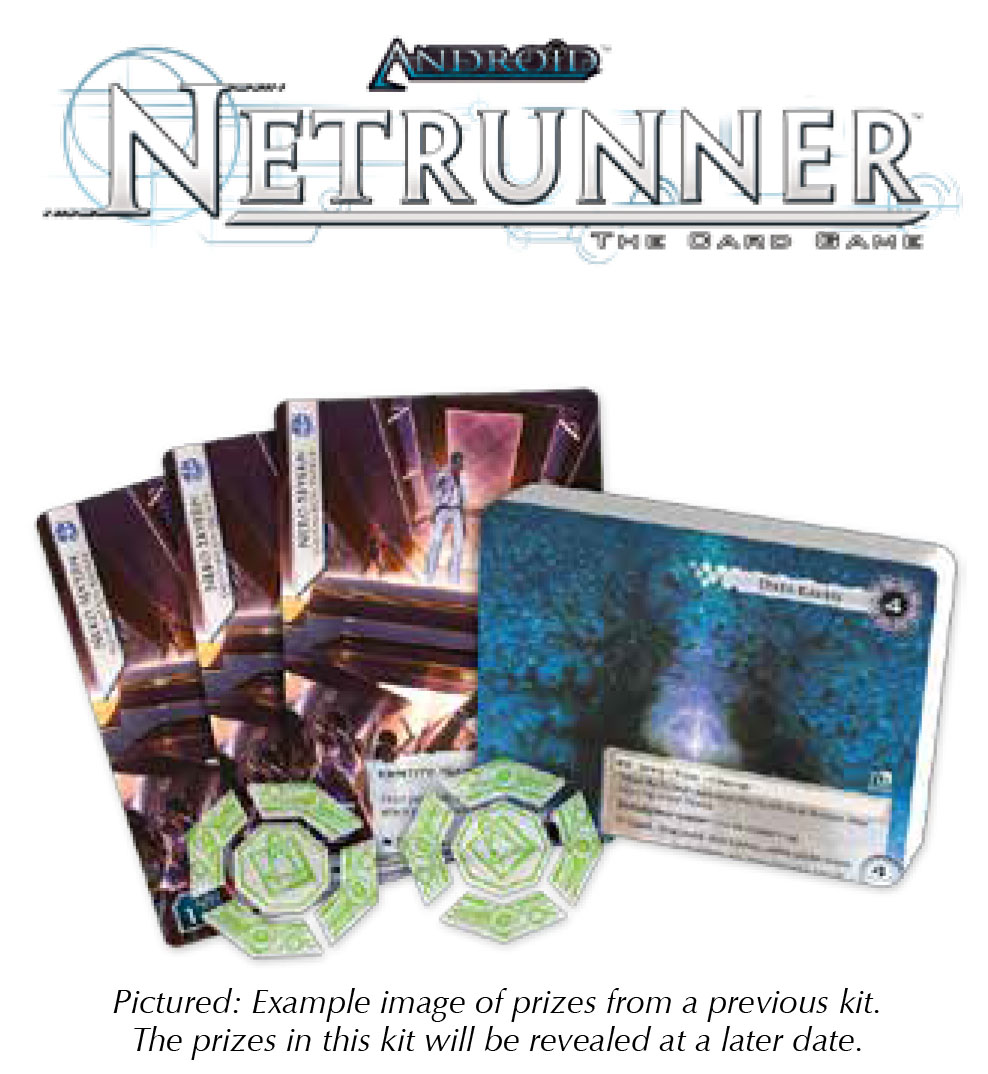 Android Netrunner Lcg: 2018 Season Four Tournament Kit Box Front