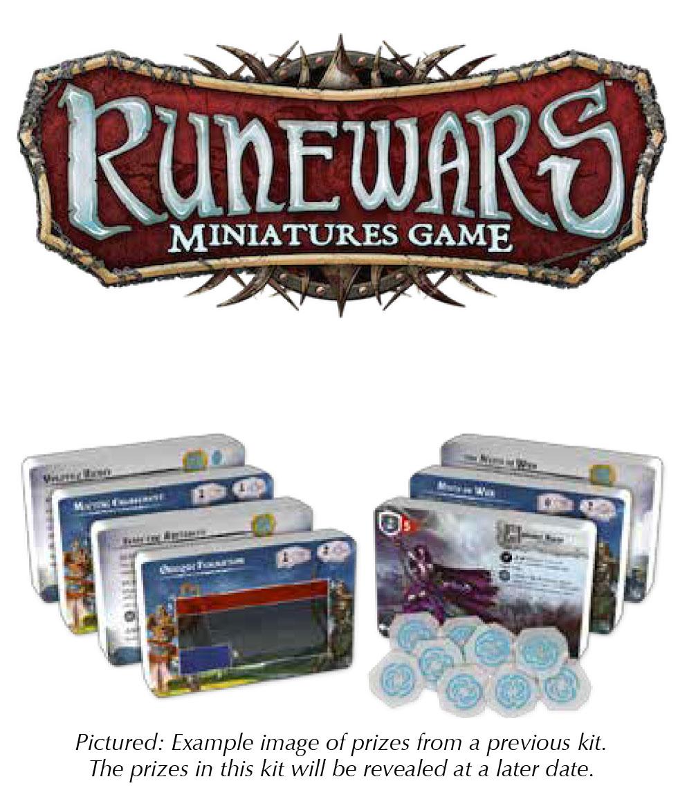 Runewars: The Miniatures Game - 2018 Season One Challenge Kit Box Front