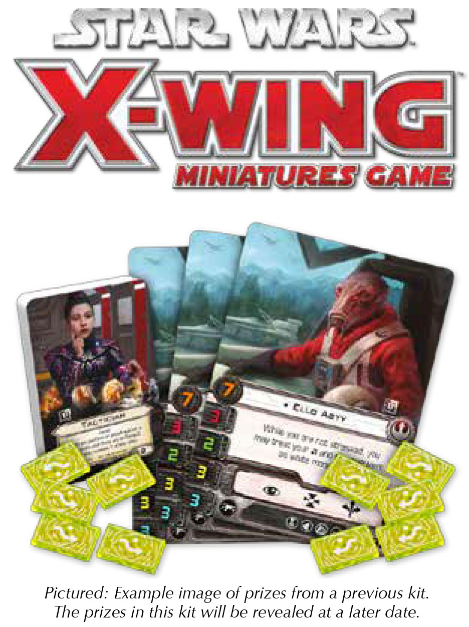 Star Wars X-wing Miniatures Game: 2018 Season Four Tournament Kit Box Front