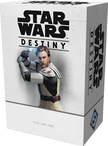 Star Wars Destiny: 2019 Season One Tournament Kit Game Box