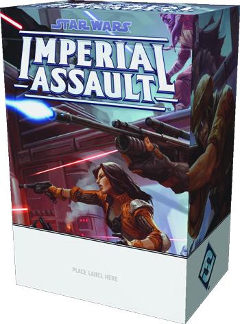 Star Wars Imperial Assault: 2019 Season Three Tournament Kit Game Box