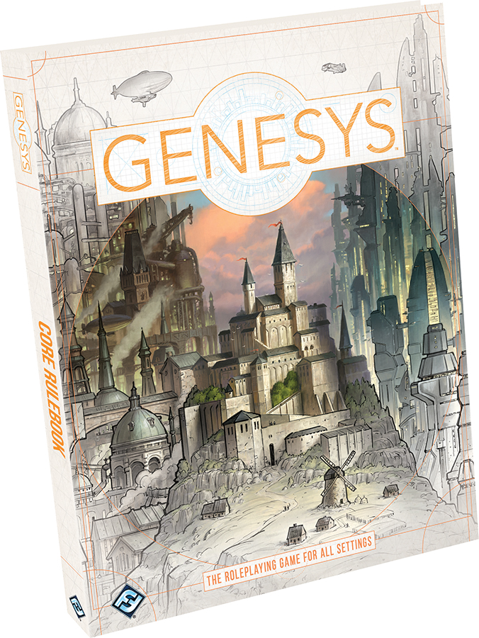 Genesys Rpg: Core Rulebook Hardcover Box Front