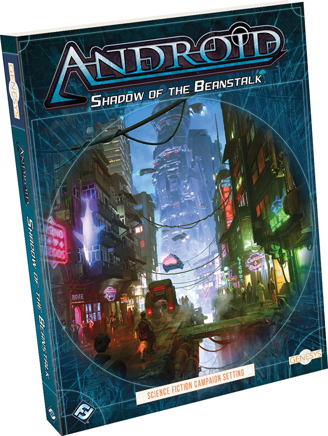 Genesys Rpg: Shadow Of The Beanstalk Hardcover Game Box