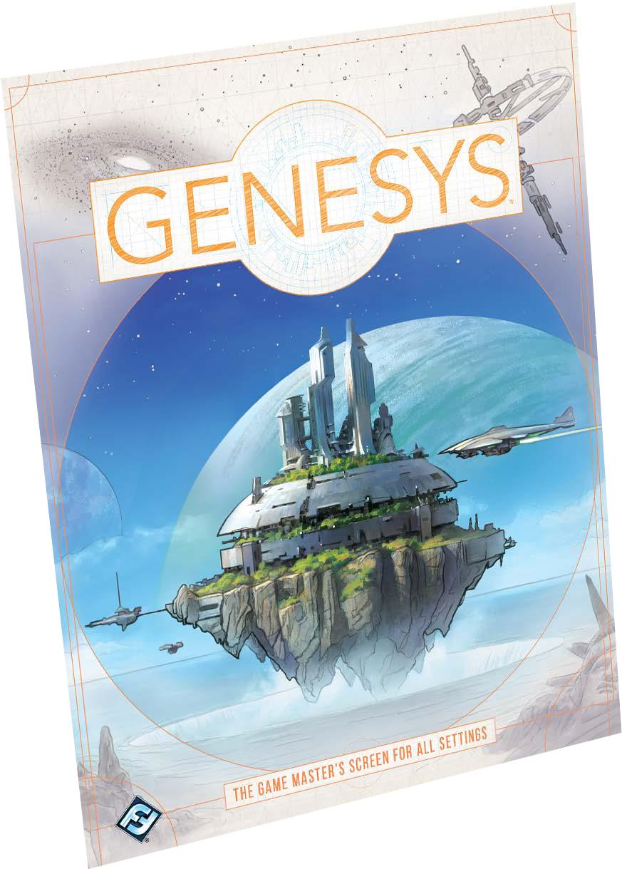 Genesys Rpg: Game Master`s Screen Game Box