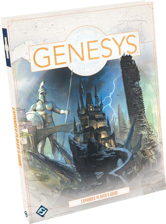 Genesys Rpg: Expanded Player`s Guide Hardcover Game Box
