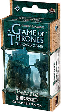 A Game Of Thrones Lcg: Forgotten Fellowship Chapter Pack Box Front