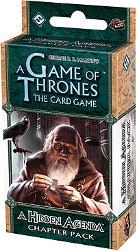 A Game Of Thrones Lcg: A Hidden Agenda Chapter Pack Box Front