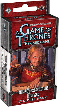 A Game Of Thrones Lcg: The Champions Purse Chapter Pack Box Front
