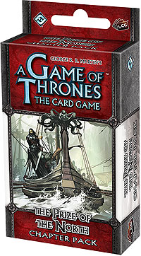 A Game Of Thrones Lcg: The Prize Of The North Chapter Pack Box Front