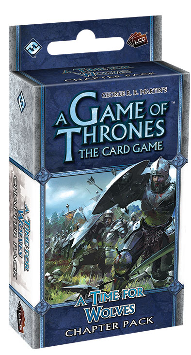 A Game Of Thrones Lcg: A Time For Wolves Chapter Pack Box Front