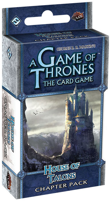 A Game Of Thrones Lcg: House Of Talons Chapter Pack Box Front