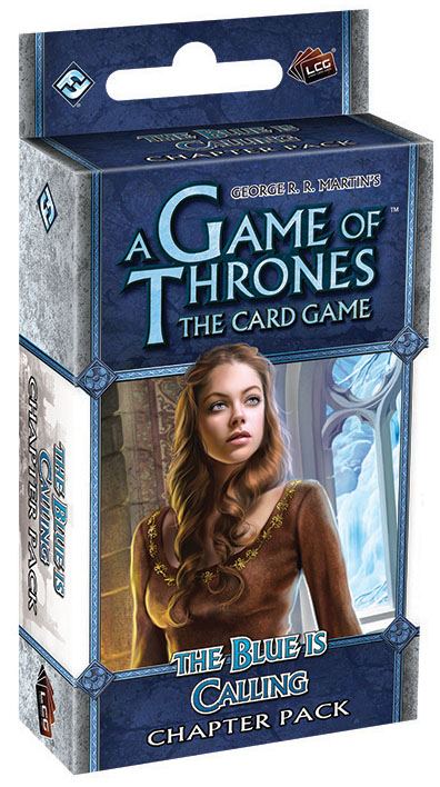 A Game Of Thrones Lcg: The Blue Is Calling Chapter Pack Box Front