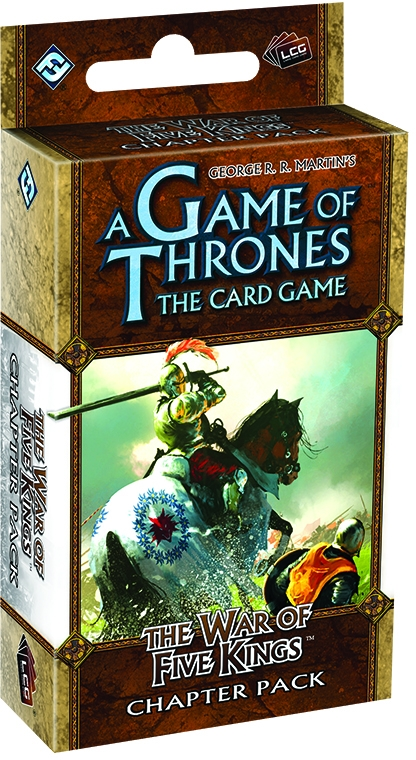 A Game Of Thrones Lcg: The War Of Five Kings Revised Chapter Pack Box Front
