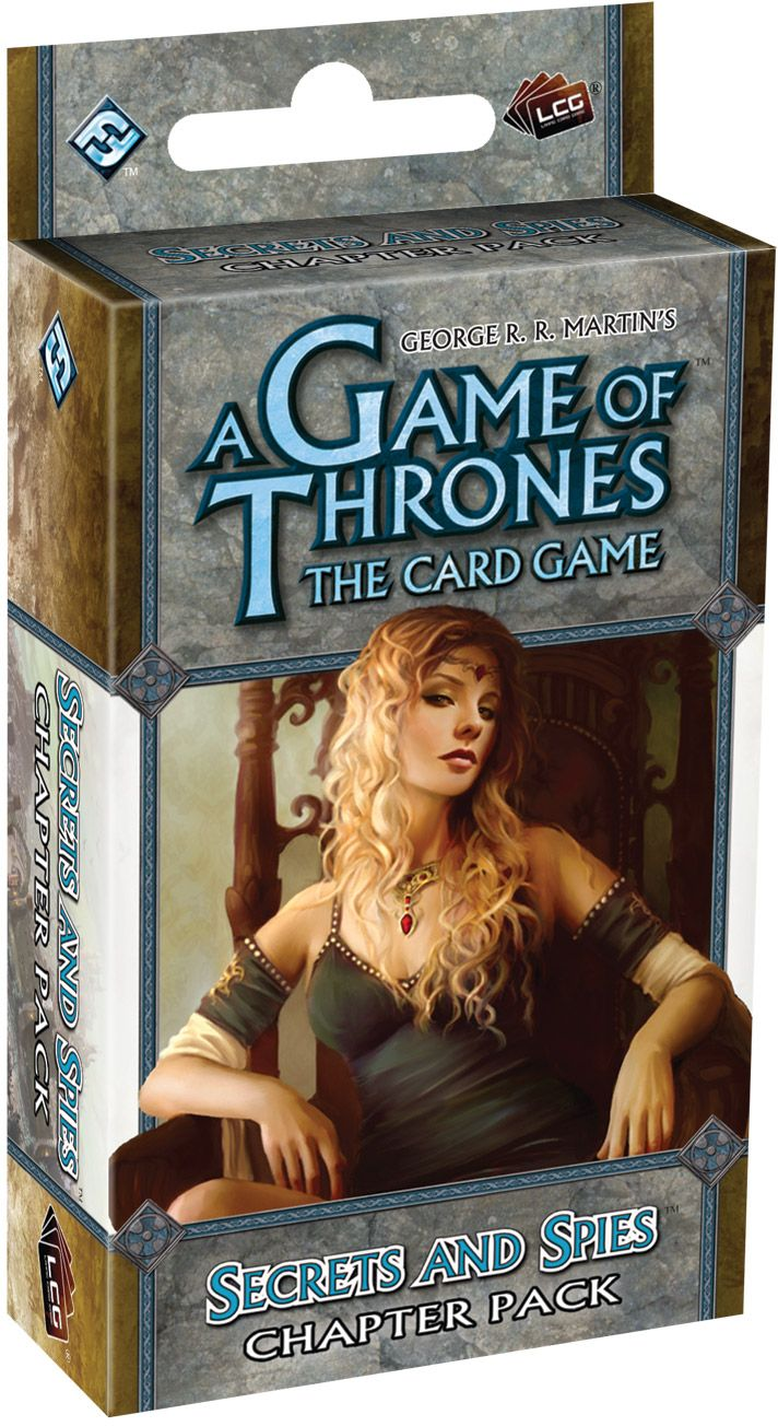 A Game Of Thrones Lcg: Secrets And Spies Chapter Pack Box Front