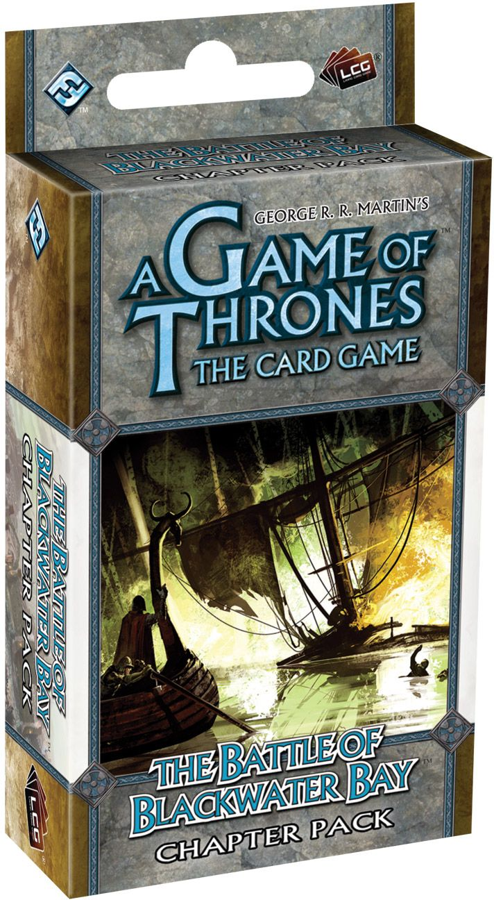 A Game Of Thrones Lcg: Battle Of Blackwater Bay Chapter Pack Box Front