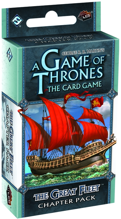 A Game Of Thrones Lcg: The Great Fleet Chapter Pack Box Front