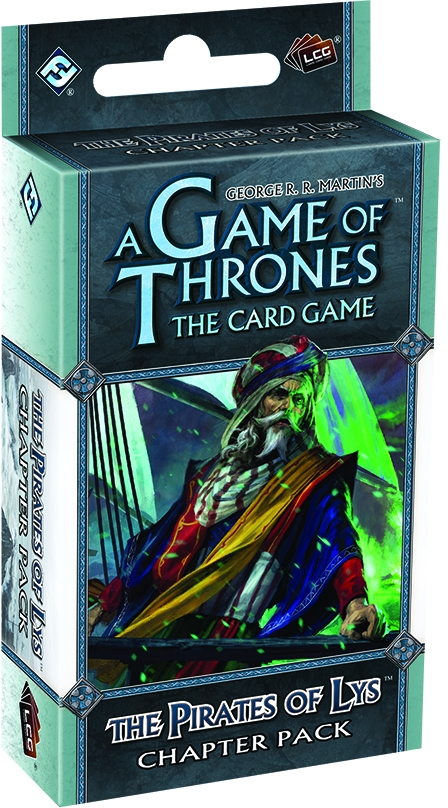 A Game Of Thrones Lcg: The Pirates Of Lys Chapter Pack Box Front