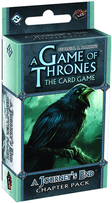 A Game Of Thrones Lcg: A Journeys End Chapter Pack Box Front