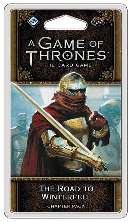 A Game Of Thrones Lcg: 2nd Edition - The Road To Winterfell Chapter Pack Box Front