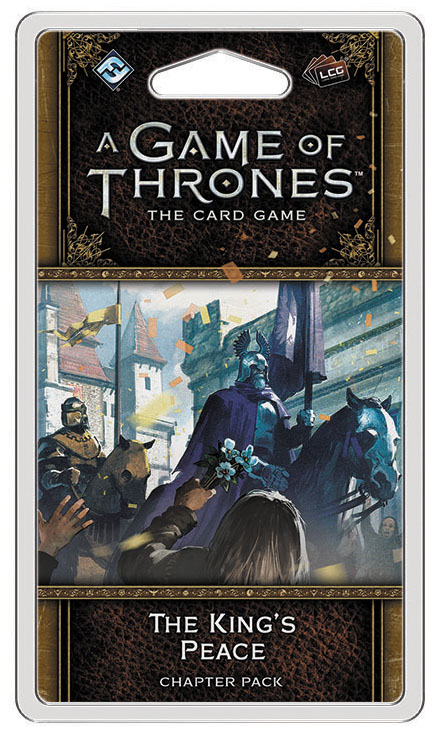 A Game Of Thrones Lcg: 2nd Edition - The King`s Peace Chapter Pack Box Front
