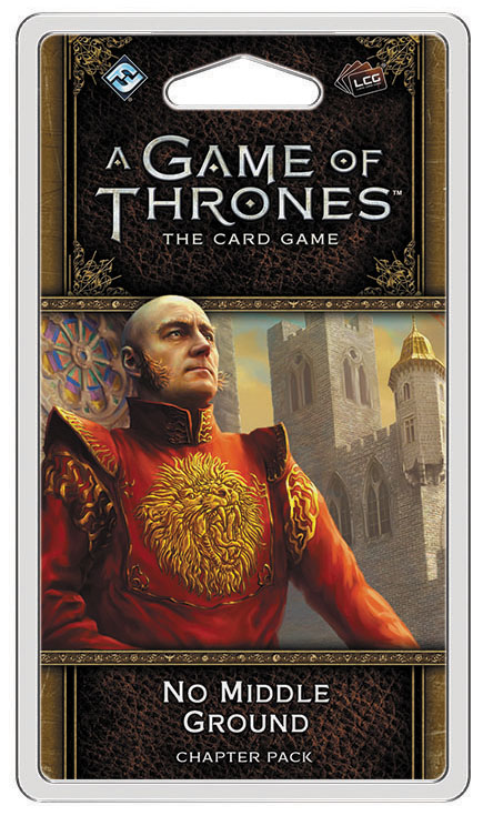 A Game Of Thrones Lcg: 2nd Edition - No Middle Ground Chapter Pack Box Front