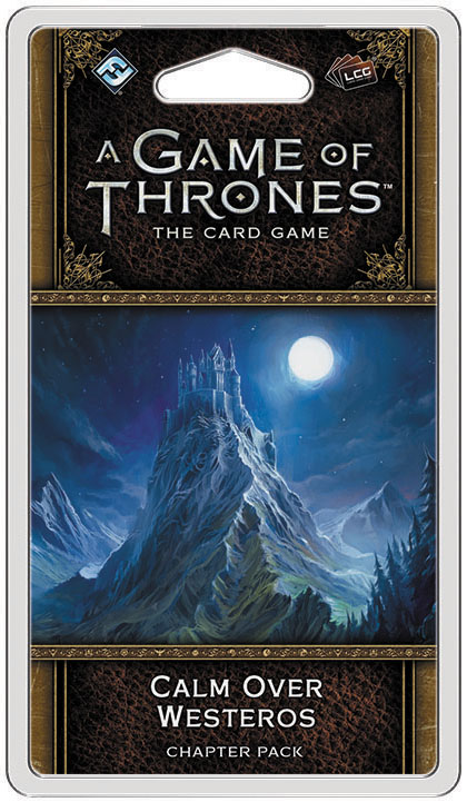 A Game Of Thrones Lcg: 2nd Edition - Calm Over Westeros Chapter Pack Box Front