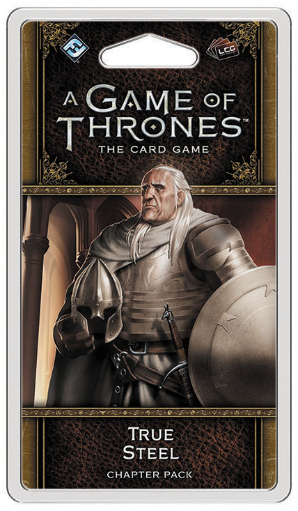 A Game Of Thrones Lcg: 2nd Edition - True Steel Chapter Pack Box Front