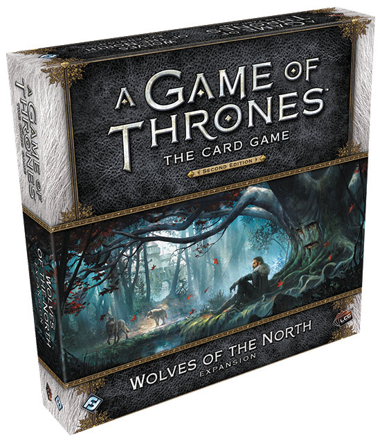 A Game Of Thrones Lcg: 2nd Edition - Wolves Of The North Expansion Box Front