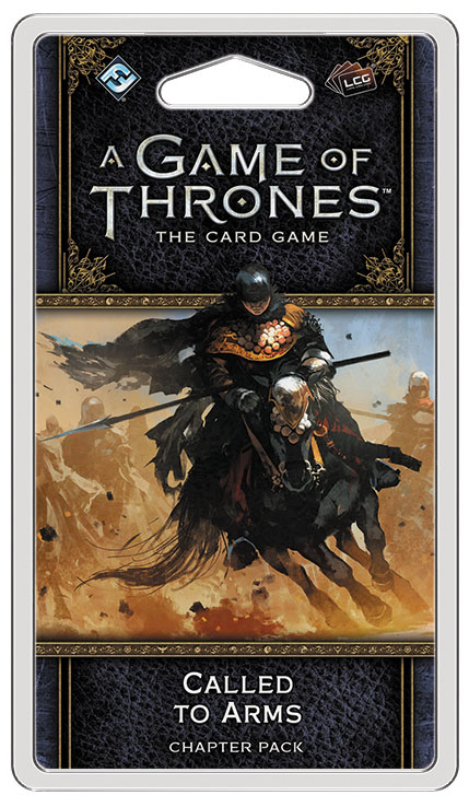 A Game Of Thrones Lcg: 2nd Edition - Called To Arms Chapter Pack Box Front
