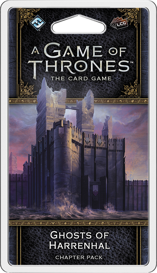 A Game Of Thrones Lcg: 2nd Edition - Ghosts Of Harrenhal Chapter Pack Box Front