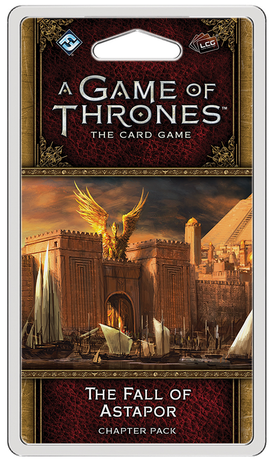 A Game Of Thrones Lcg: 2nd Edition - The Fall Of Astapor Chapter Pack Box Front