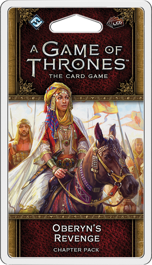 A Game Of Thrones Lcg: 2nd Edition - Oberyn`s Revenge Chapter Pack Box Front