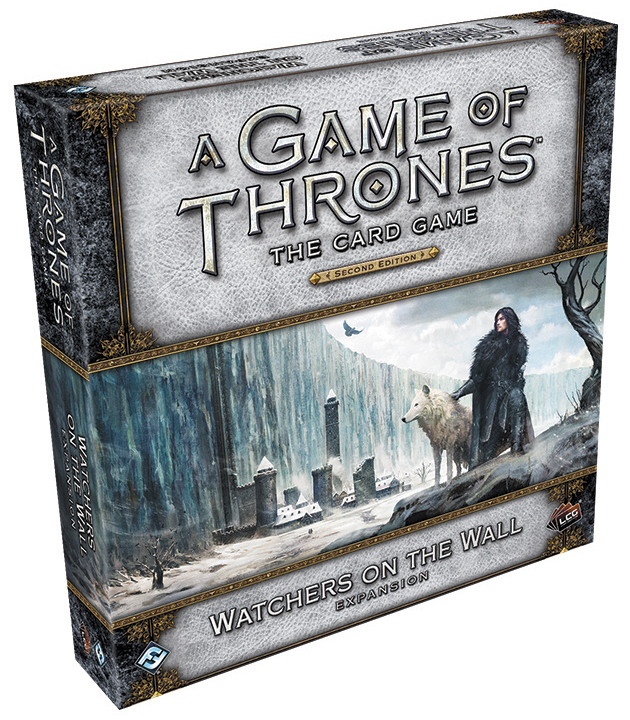 A Game Of Thrones Lcg: 2nd Edition - Watchers On The Wall Expansion Box Front