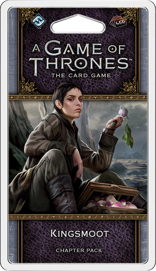 A Game Of Thrones Lcg: 2nd Edition - Kingsmoot Chapter Pack Box Front