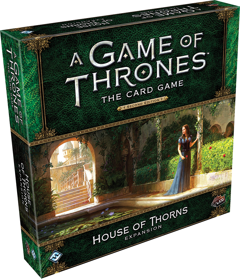 A Game Of Thrones Lcg: 2nd Edition - House Of Thorns Expansion Box Front